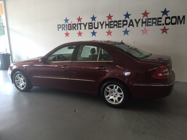 Priority Buy Here Pay Here >> Used 2005 Mercedes Benz E Class For Sale At Priority Buy