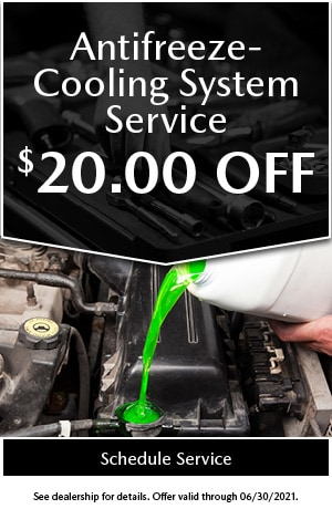 Antifreeze Cooling System Service Special