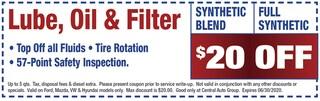 Central Oil & Filter