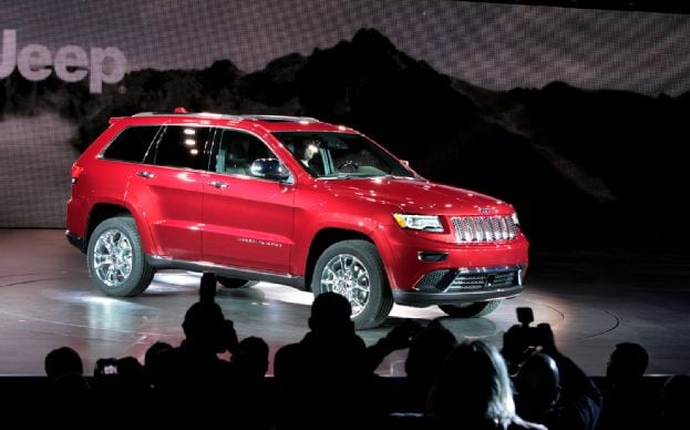 2014 Jeep Grand Cherokee Overland Preview New York City