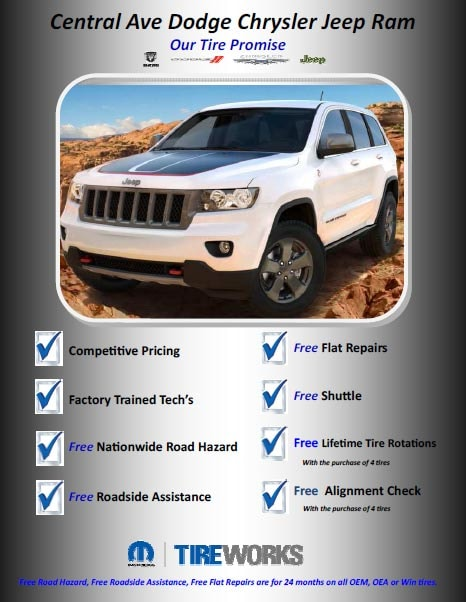 Service Discounts and Specials in Yonkers New York   Dodge Chrysler