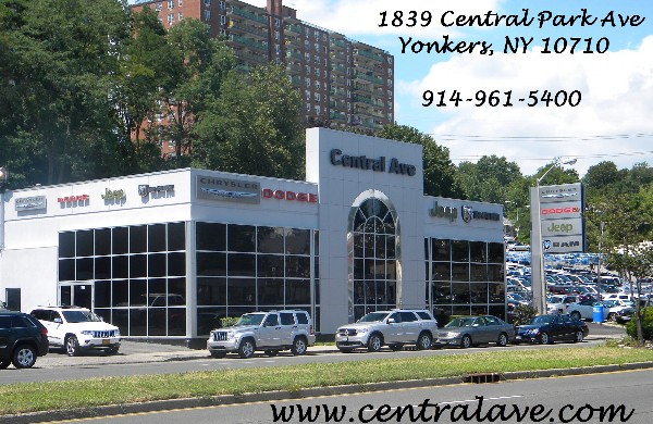 About Central Ave Chrysler Jeep Dodge Ram   Yonkers, New York