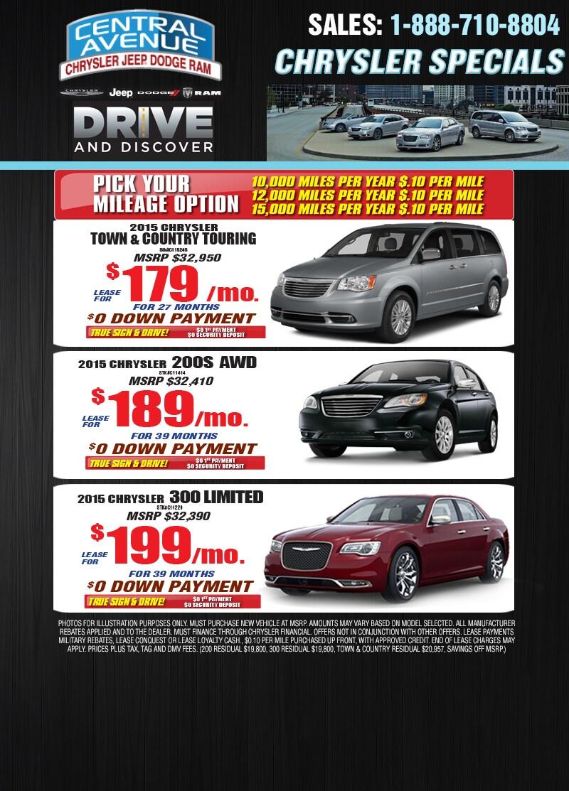 Central Avenue Chrysler   New Chrysler, Dodge, Jeep, Ram dealership