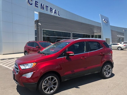 Used 2018 Ford EcoSport SUV Ruby Red For Sale in Trumann AR | VIN:  MAJ6P1UL0JC234693