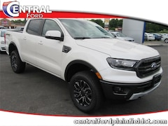 New 2019 Ford Ranger Lariat 4D Crew Cab Truck 1FTER4FH8KLA52090 for Sale in Plainfield, CT at Central Auto Group