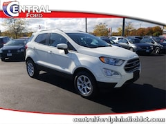 New 2019 Ford EcoSport SE SUV MAJ6S3GL9KC306532 for Sale in Plainfield, CT at Central Auto Group