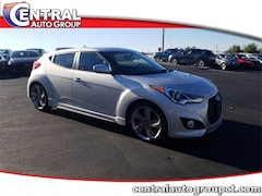 Used 2014 Hyundai Veloster Turbo w/Black Hatchback M2708A for Sale in Plainfield, CT at Central Auto Group