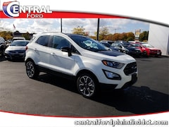 New 2020 Ford EcoSport SES SUV MAJ6S3JL4LC312085 for Sale in Plainfield, CT at Central Auto Group