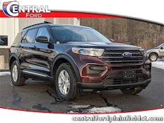 New 2020 Ford Explorer XLT SUV 1FMSK8DH0LGA74690 for Sale in Plainfield, CT at Central Auto Group