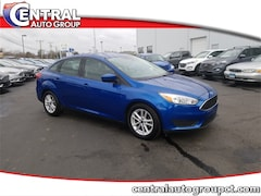 Used 2018 Ford Focus SE Sedan U6703 for Sale in Plainfield, CT at Central Auto Group