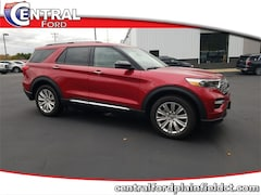 New 2020 Ford Explorer Limited SUV 1FMSK8FH6LGA45918 for Sale in Plainfield, CT at Central Auto Group