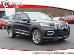 New 2020 Ford Explorer Platinum SUV 1FM5K8HC2LGA66358 for Sale in Plainfield, CT at Central Auto Group