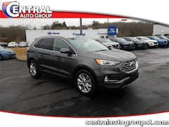 2019 Ford Edge Titanium SUV for Sale in Plainfield, CT at Central Auto Group