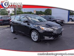 Used 2018 Ford Focus Titanium Hatchback V1421A for Sale in Plainfield, CT at Central Auto Group