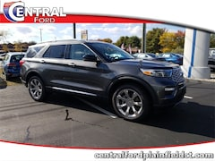 New 2020 Ford Explorer Platinum SUV 1FM5K8HC6LGA45920 for Sale in Plainfield, CT at Central Auto Group