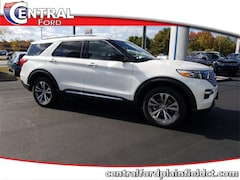 New 2020 Ford Explorer Platinum SUV 1FM5K8HC8LGA45921 for Sale in Plainfield, CT at Central Auto Group