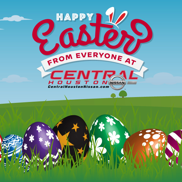 Happy Easter from Central Houston Nissan