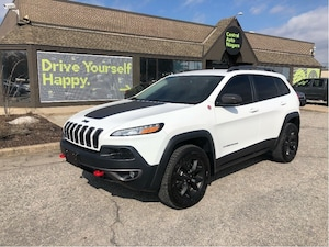 2016 Jeep Cherokee Trailhawk / 4X4/ NAVIGATION / LEATHER-TRIM