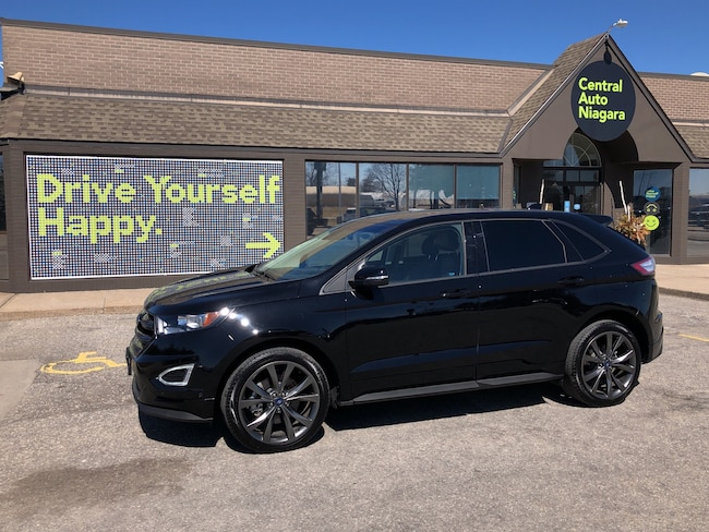 2018 Ford Edge SPORT / AWD/NAVI/LEATHER/PANO-SUNROOF SUV
