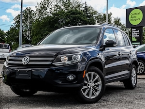 2015 Volkswagen Tiguan Comfortline / AWD / SUNROOF / LEATHERETTE /
