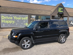 2017 Jeep Patriot High Altitude Edition / 4X4/ LEATHER/ SUNROOF