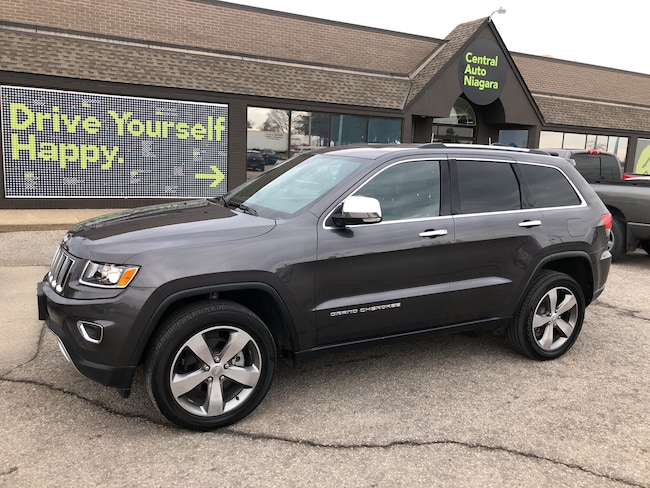 2016 Jeep Grand Cherokee Limited / NAVIGATION / SUNROOF / LEATHER SUV