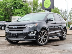 2018 Ford Edge SPORT/LEATHER/PANO-ROOF/NAVI/AWD