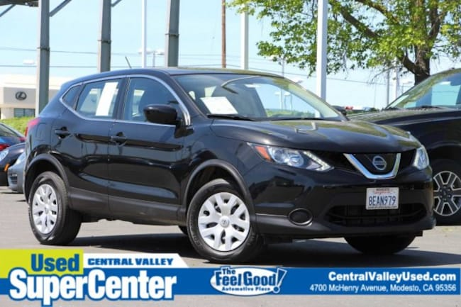Certified 2018 Nissan Rogue Sport S 2018.5 FWD S for sale in Modesto, California at Central Valley Nissan
