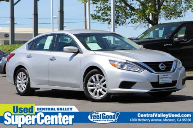 Certified 2018 Nissan Altima 2.5 S Sedan for sale in Modesto, California at Central Valley Nissan