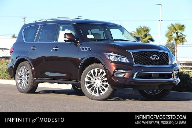 New 2017 Infiniti Qx80 For Sale At Central Valley Automotive Vin