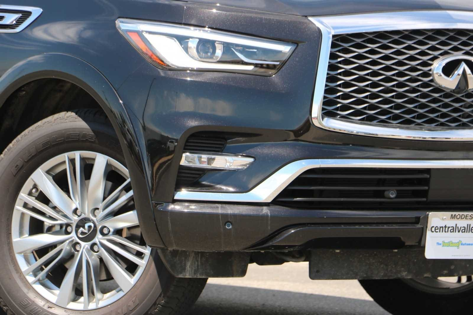 Used 2018 INFINITI QX80 For Sale at Central Valley