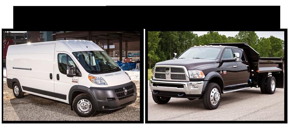 31cba30443 Choosing Between Vans and Trucks
