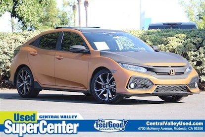 Used 2019 Honda Civic Hatchback For Sale At Central Valley