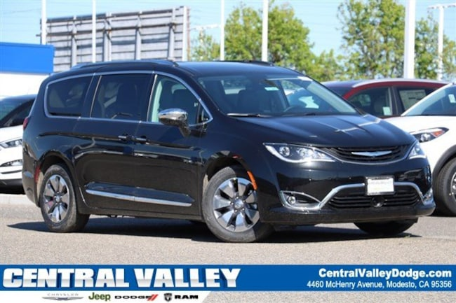 New 2018 Chrysler Pacifica HYBRID LIMITED Passenger Van for sale in Modesto, CA at Central Valley Chrysler Jeep Dodge Ram