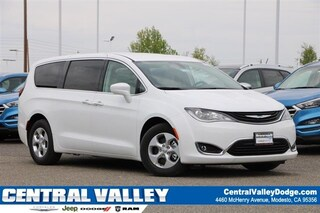 New 2018 Chrysler Pacifica Hybrid TOURING PLUS Passenger Van in Modesto, CA at Central Valley Chrysler Jeep Dodge Ram