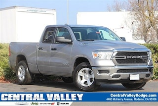 New 2019 Ram 1500 TRADESMAN QUAD CAB 4X2 6'4 BOX Quad Cab in Modesto, CA at Central Valley Chrysler Jeep Dodge Ram
