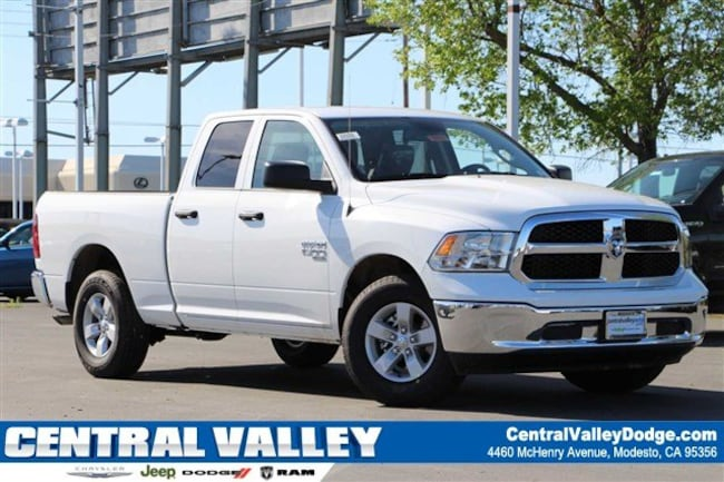 New 2019 Ram 1500 CLASSIC TRADESMAN QUAD CAB 4X2 6'4 BOX Quad Cab for sale in Modesto, CA at Central Valley Chrysler Jeep Dodge Ram
