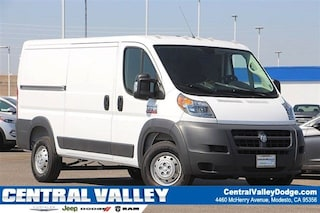 New 2018 Ram ProMaster 1500 CARGO VAN LOW ROOF 136 WB Cargo Van in Modesto, CA at Central Valley Chrysler Jeep Dodge Ram