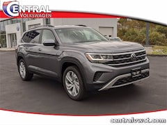 New 2021 Volkswagen Atlas 3.6L V6 SE w/Technology 4MOTION SUV 1V2HR2CA6MC526371 for Sale in Plainfield, CT at Central Auto Group