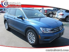 New 2019 Volkswagen Tiguan 2.0T S 4MOTION SUV 3VV0B7AX6KM145673 for Sale in Plainfield, CT at Central Auto Group