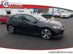 New 2019 Volkswagen Golf GTI 2.0T SE Hatchback 3VW5T7AU9KM034099 for Sale in Plainfield, CT at Central Auto Group