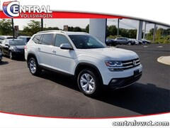 New 2019 Volkswagen Atlas 3.6L V6 SE w/Technology 4MOTION SUV 1V2UR2CA3KC583722 for Sale in Plainfield, CT at Central Auto Group