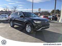 New 2021 Volkswagen Atlas 3.6L V6 SE w/Technology 4MOTION (2021.5) SUV 1V2KR2CA9MC546281 for Sale in Plainfield, CT at Central Auto Group