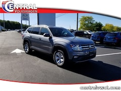 New 2019 Volkswagen Atlas 3.6L V6 SE w/Technology 4MOTION SUV 1V2UR2CAXKC583491 for Sale in Plainfield, CT at Central Auto Group