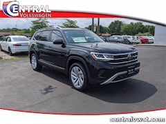 New 2021 Volkswagen Atlas 3.6L V6 SEL 4MOTION SUV 1V2BR2CA3MC502180 for Sale in Plainfield, CT at Central Auto Group