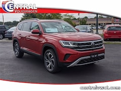 New 2021 Volkswagen Atlas 3.6L V6 SEL Premium 4MOTION SUV 1V2TR2CA9MC526861 for Sale in Plainfield, CT at Central Auto Group