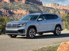 New 2021 Volkswagen Atlas 3.6L V6 SE w/Technology R-Line 4MOTION (2021.5) SUV 1V2RR2CA7MC588687 for Sale in Plainfield, CT at Central Auto Group