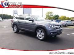 New 2019 Volkswagen Atlas 3.6L V6 SE w/Technology 4MOTION SUV 1V2UR2CA3KC589388 for Sale in Plainfield, CT at Central Auto Group