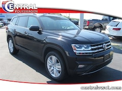 New 2019 Volkswagen Atlas 3.6L V6 SE w/Technology 4MOTION SUV 1V2UR2CA8KC577088 for Sale in Plainfield, CT at Central Auto Group