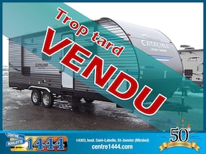 2019 CATALINA Legacy 243RBS * VENDU * - Extension double